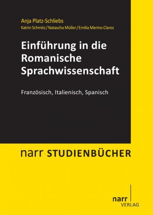 Einführung in die Romanische Sprachwissenschaft cover