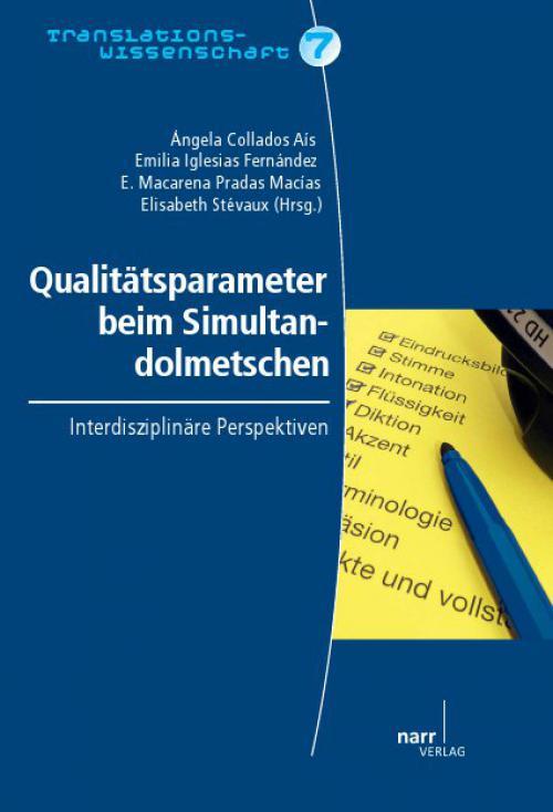 Qualitätsparameter beim Simultandolmetschen cover