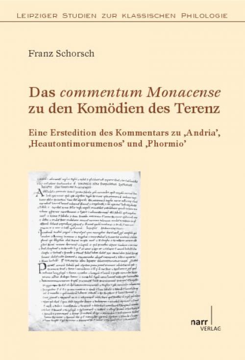 Das commentum Monacense zu den Komödien des Terenz cover