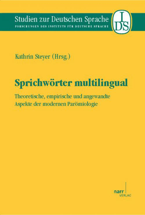 Sprichwörter multilingual cover