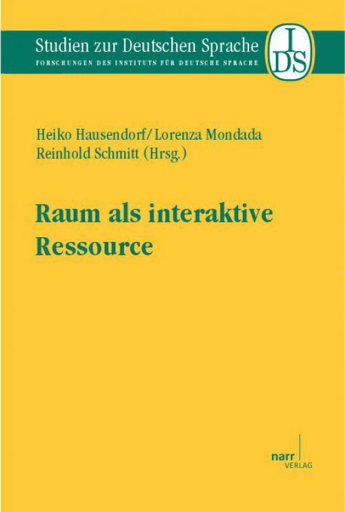 Raum als interaktive Ressource cover