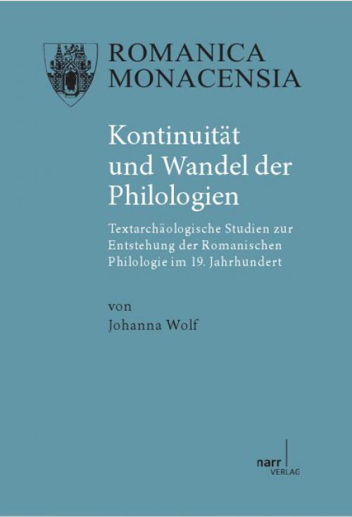 Kontinuität und Wandel der Philologien cover