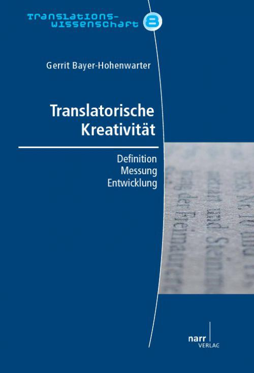 Translatorische Kreativität cover