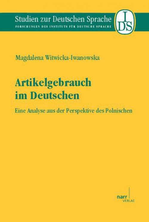 Artikelgebrauch im Deutschen cover