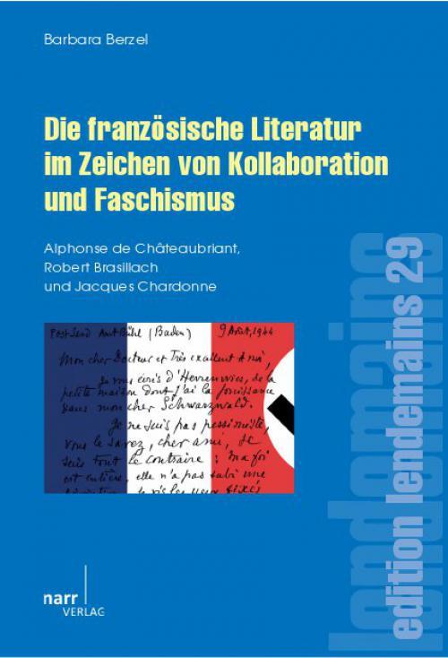 Die französische Literatur im Zeichen von Kollaboration und Faschismus cover