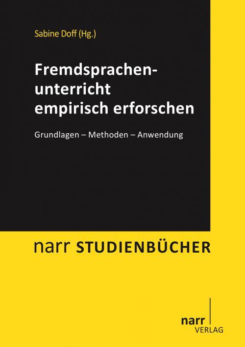 Fremdsprachenunterricht empirisch erforschen cover