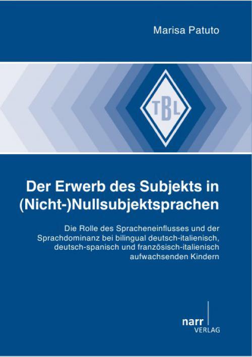 Der Erwerb des Subjekts in (Nicht-)Nullsubjektsprachen cover