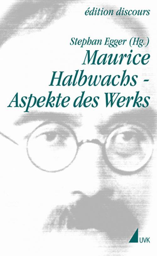 Maurice Halbwachs – Aspekte des Werks cover