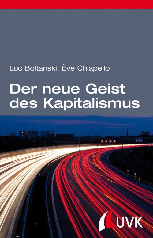 Der neue Geist des Kapitalismus cover