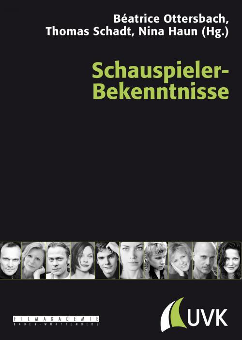 Schauspieler-Bekenntnisse cover