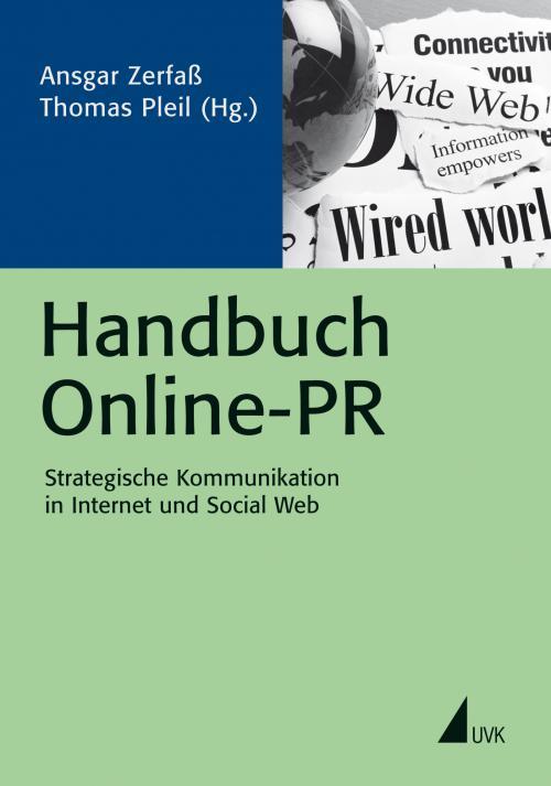 Handbuch Online-PR cover