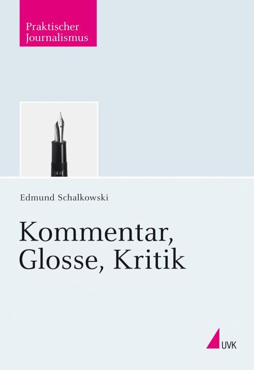 Kommentar, Glosse, Kritik cover