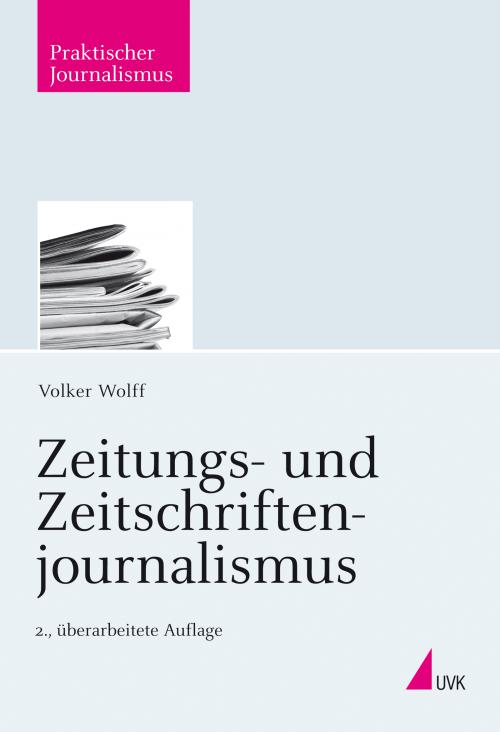 Zeitungs- und Zeitschriftenjournalismus cover