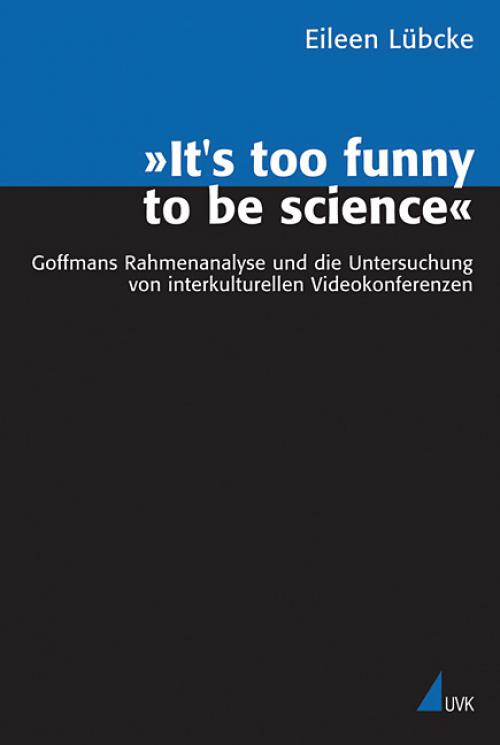 »It's too funny to be science« cover