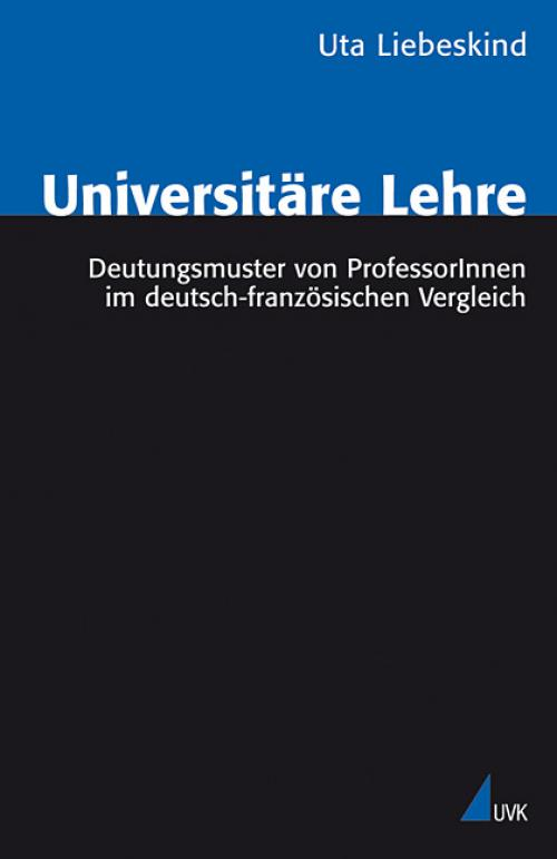 Universitäre Lehre cover