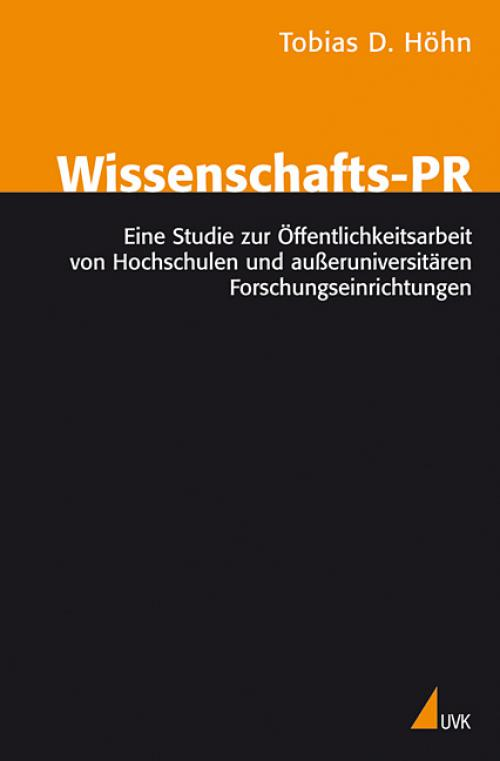 Wissenschafts-PR cover