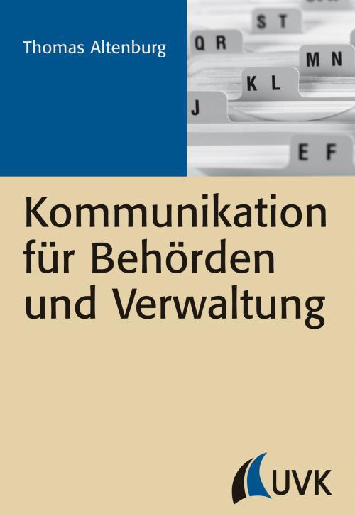Kommunikation für Behörden und Verwaltung cover