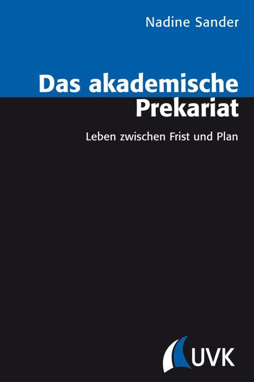 Das akademische Prekariat cover