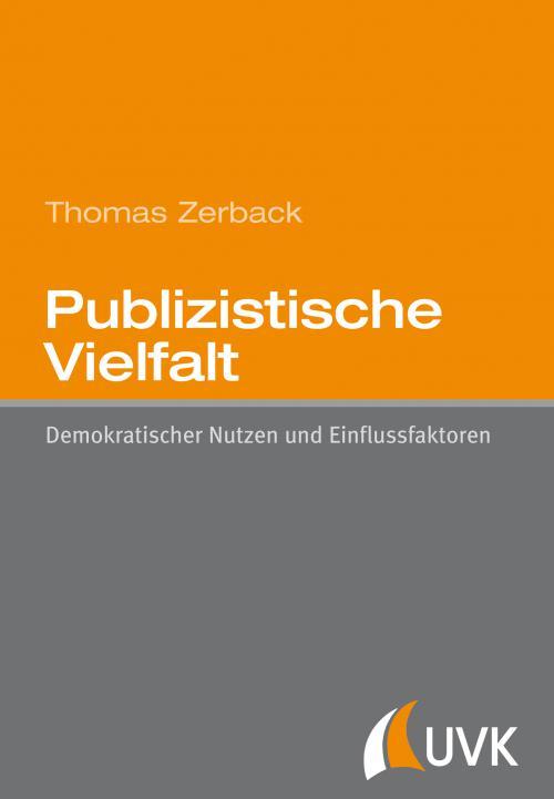 Publizistische Vielfalt cover
