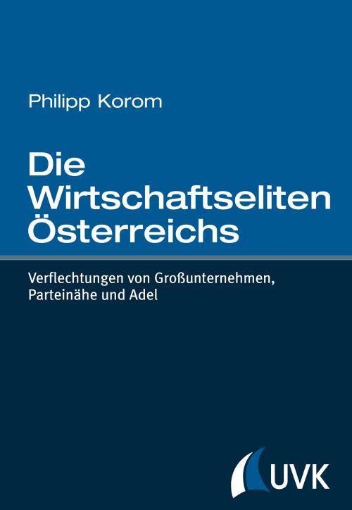Die Wirtschaftseliten Österreichs cover