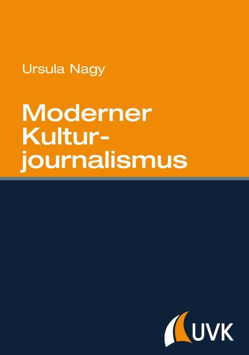 Moderner Kulturjournalismus cover