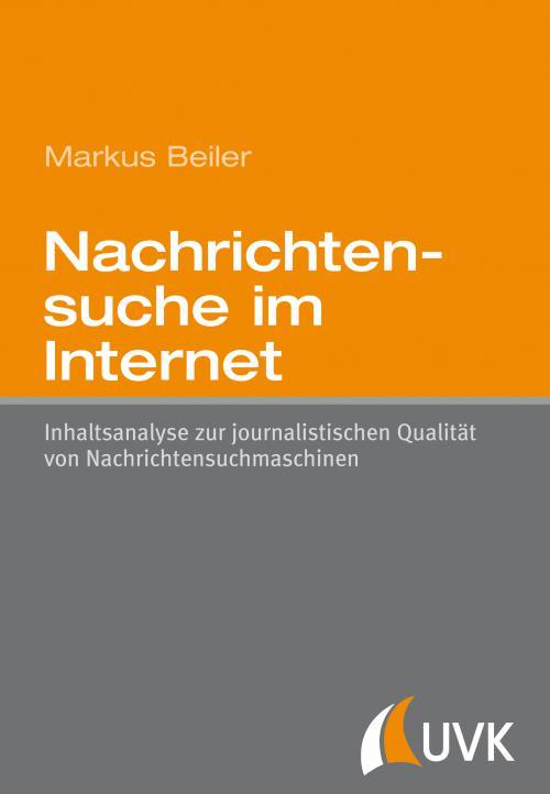 Nachrichtensuche im Internet cover