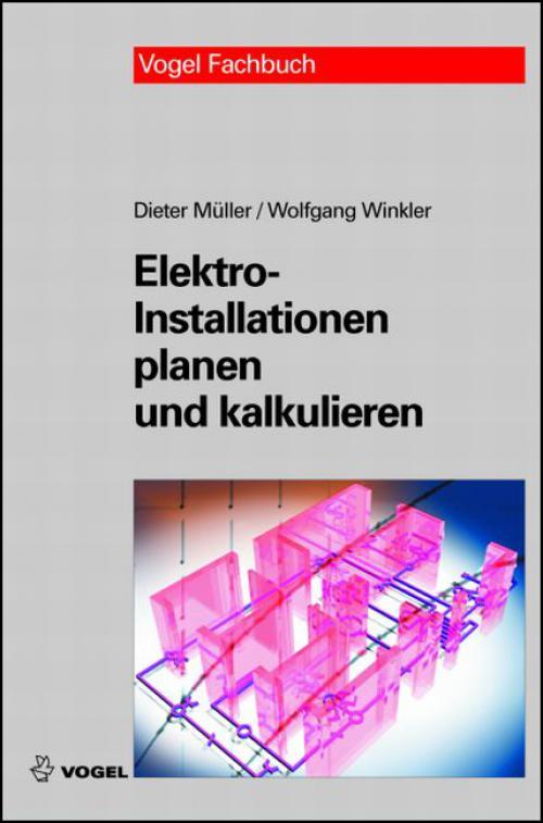 Elektroinstallationen planen und kalkulieren cover