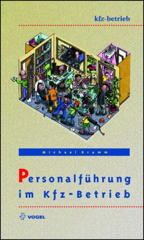 Personalführung im Kfz-Betrieb cover