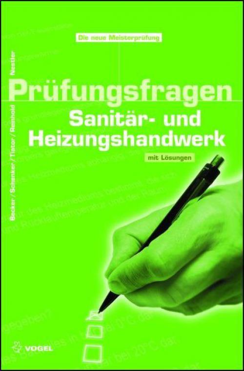 Prüfungsfragen Sanitär- und Heizungshandwerk cover