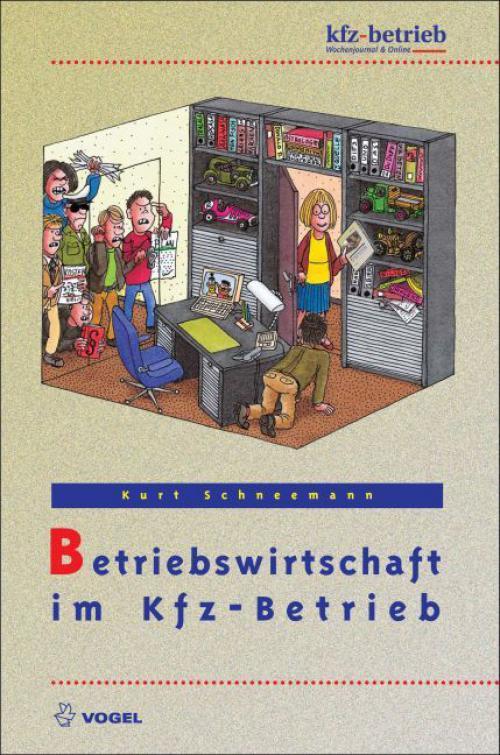 Betriebswirtschaft im Kfz-Betrieb cover