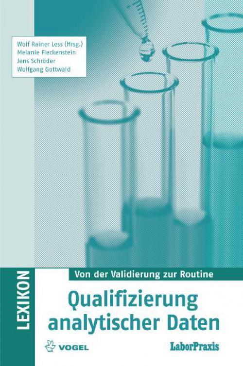 Qualifizierung analytischer Daten cover
