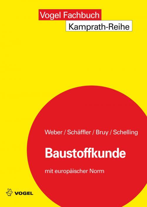 Baustoffkunde cover
