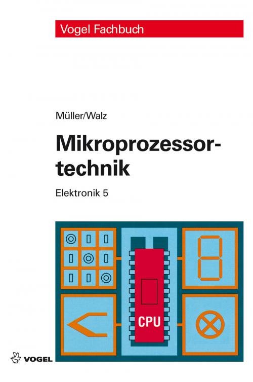 Mikroprozessortechnik, Elektronik 5 cover