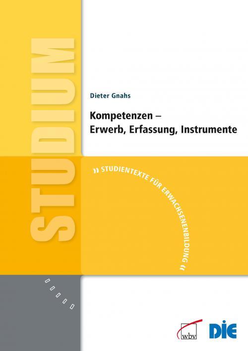 Kompetenzen - Erwerb, Erfassung, Instrumente cover