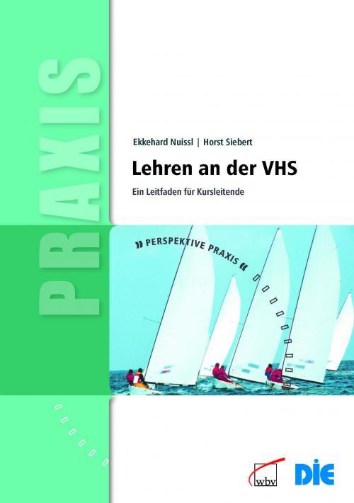 Lehren an der VHS cover