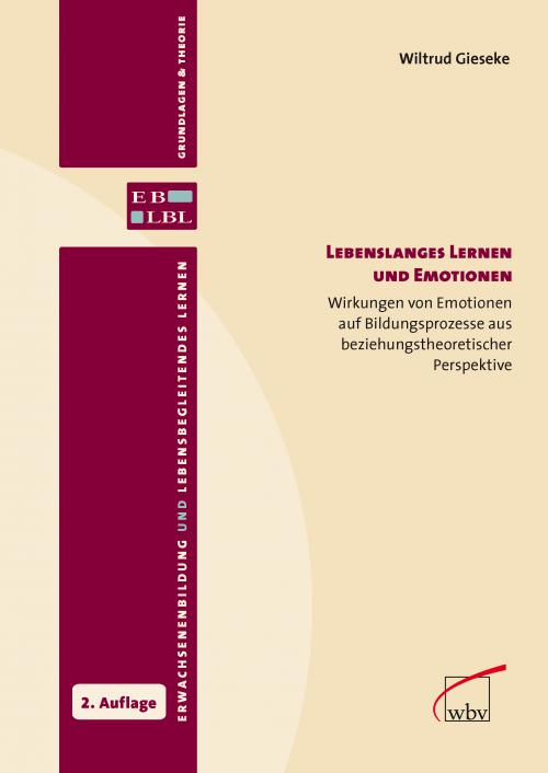 Lebenslanges Lernen und Emotionen cover