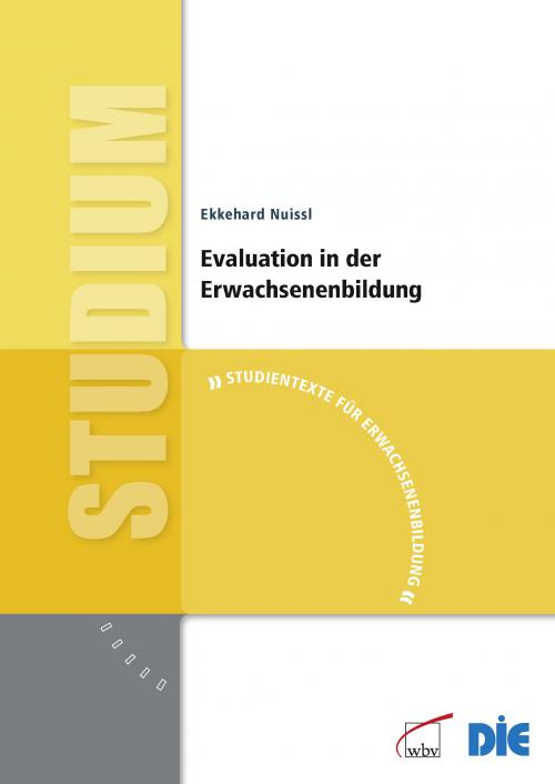 Evaluation in der Erwachsenenbildung cover