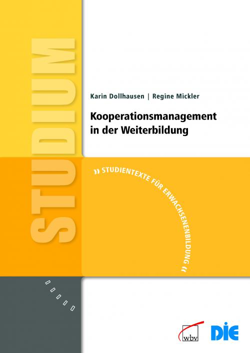 Kooperationsmanagement in der Weiterbildung cover