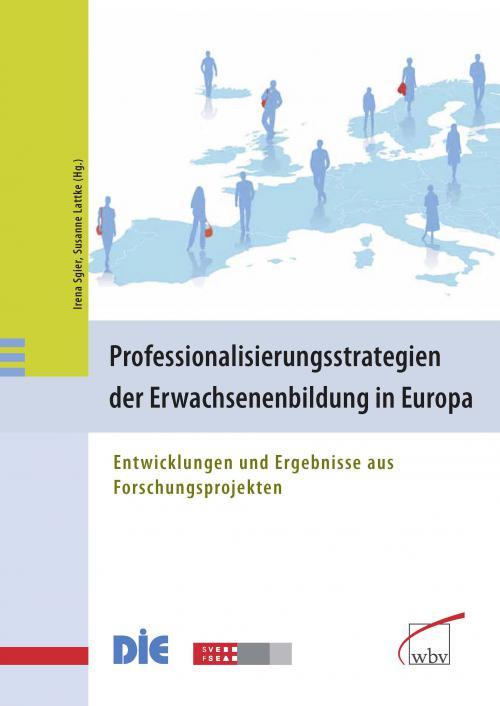 Professionalisierungsstrategien der Erwachsenenbildung in Europa cover