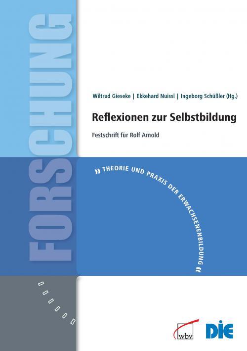 Reflexionen zur Selbstbildung cover