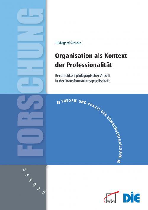 Organisation als Kontext der Professionalität cover