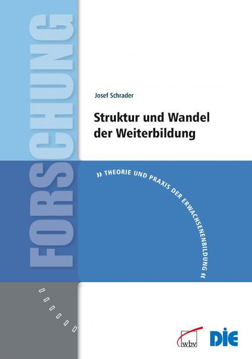 Struktur und Wandel der Weiterbildung cover