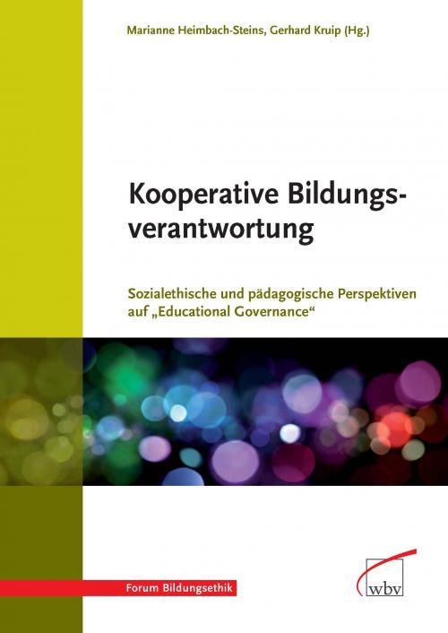 Kooperative Bildungsverantwortung cover
