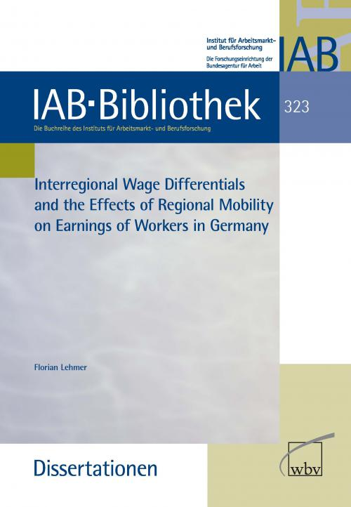 Interregional Wage Differentials and the Effects of Regional Mobility on Earnings of Workers in G. cover