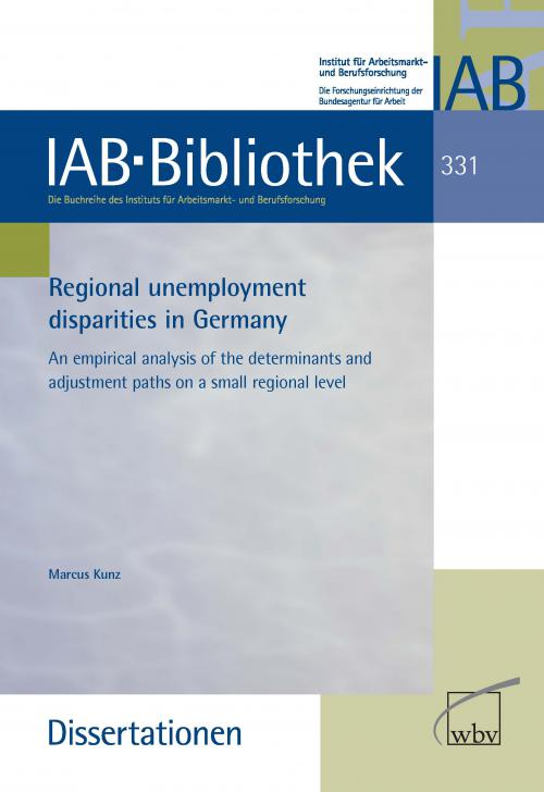 Regional unemployment disparities in Germany cover