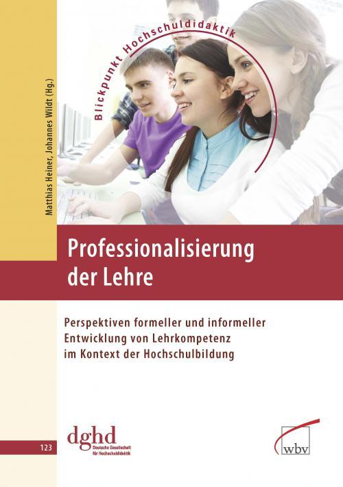Professionalisierung der Lehre cover