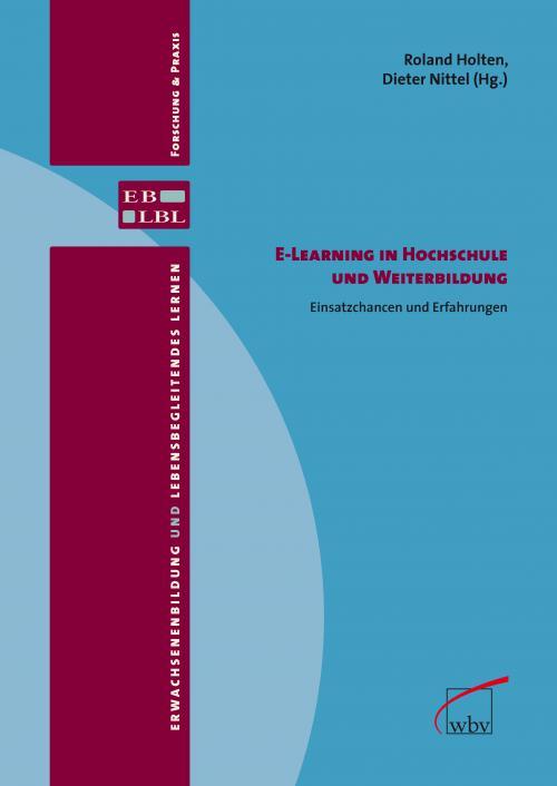 E-Learning in Hochschule und Weiterbildung cover