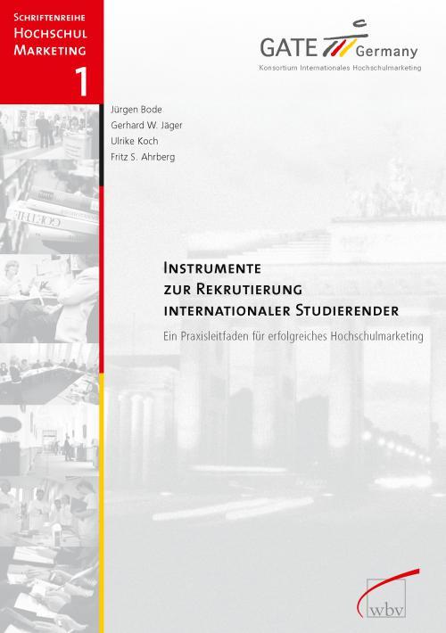 Instrumente zur Rekrutierung internationaler Studierender cover