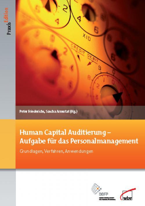 Human Capital Auditierung - Aufgabe für das Personalmanagement cover