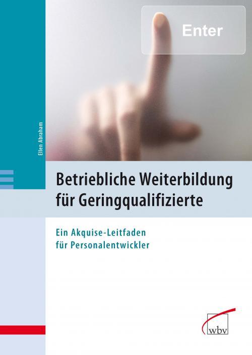 Betriebliche Weiterbildung für Geringqualifizierte cover